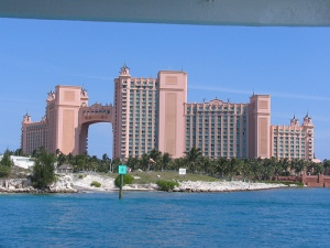 The Atlantis in the Bahamas