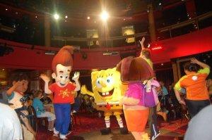 Sponge Bob & Dora at Sea